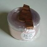 MCoil CFC14 Kupferfolienspule OFC 14 AWG - Folie 27 mm