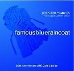 Jennifer Warnes: Famous Blue Raincoat - 24 Karat Gold CD